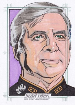 Jason Kemp Sketch - Gene Roddenberry