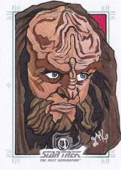 Jason Kemp Sketch - Gowron