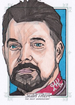 Jason Kemp Sketch - William Riker