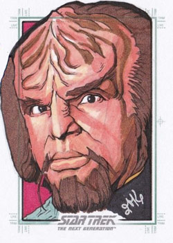 Jason Kemp Sketch - Worf