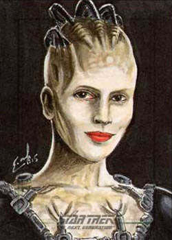 Eric McConnell AR Sketch - Borg Queen