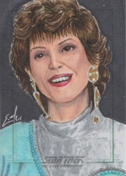 Eric McConnell Sketch - Lwaxana Troi