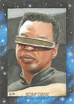 Chris Meeks Sketch - Geordi La Forge