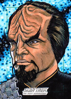 Nathan Nelson AR Sketch - Worf