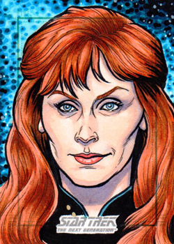 Nathan Nelson Sketch - Beverly Crusher
