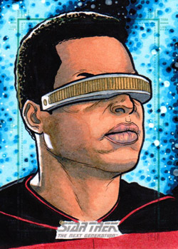 Nathan Nelson Sketch - Geordi La Forge