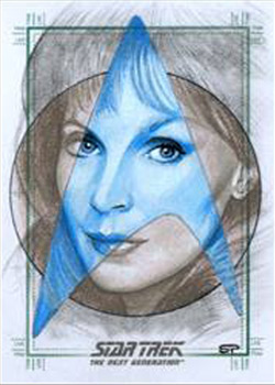 Sean Pence Sketch - Beverly Crusher
