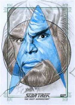 Sean Pence Sketch - Worf