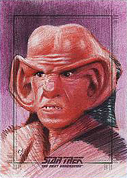 Richard Salvucci Sketch - Ferengi
