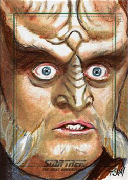 Tim Shay Sketch - Gowron