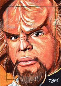 Tim Shay Sketch - Worf