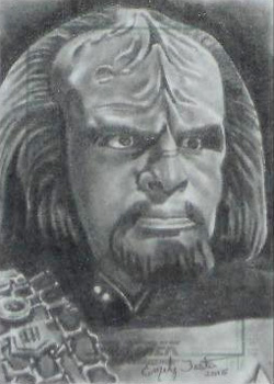 Emily Tester Sketch - Worf