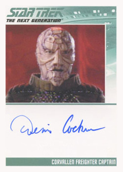 Autograph - Dennis Cockrum