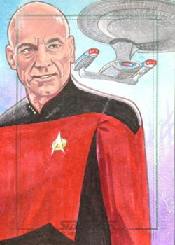 Roy Cover Sketch - Jean-Luc Picard