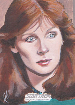 Lee Lightfoot Sketch - Beverly Crusher #3