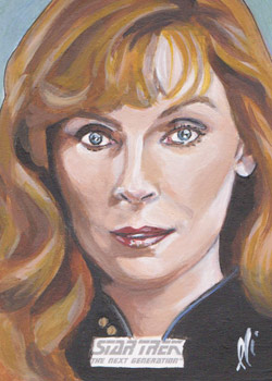 Lee Lightfoot Sketch - Beverly Crusher #5