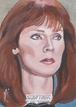 Lee Lightfoot Sketch - Beverly Crusher #6