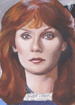Lee Lightfoot Sketch - Beverly Crusher #7