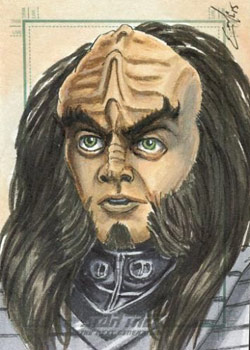 Eric McConnell Sketch - Gowron