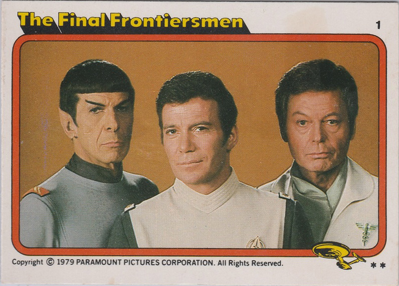 Topps Star Trek :TMP UK Edition 1979 #1