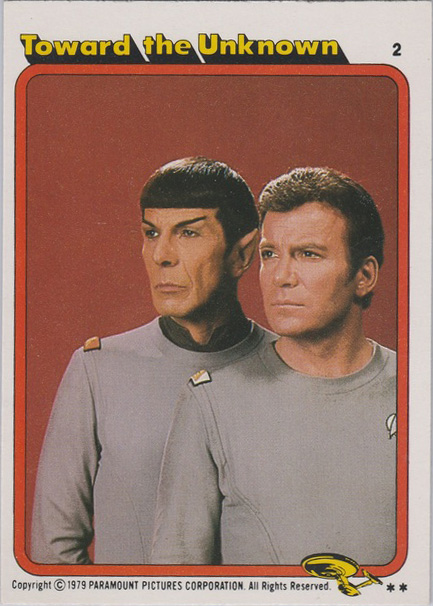 Topps Star Trek :TMP UK Edition 1979 #2