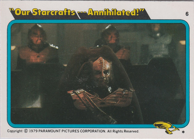 Topps Star Trek :TMP UK Edition 1979 #6