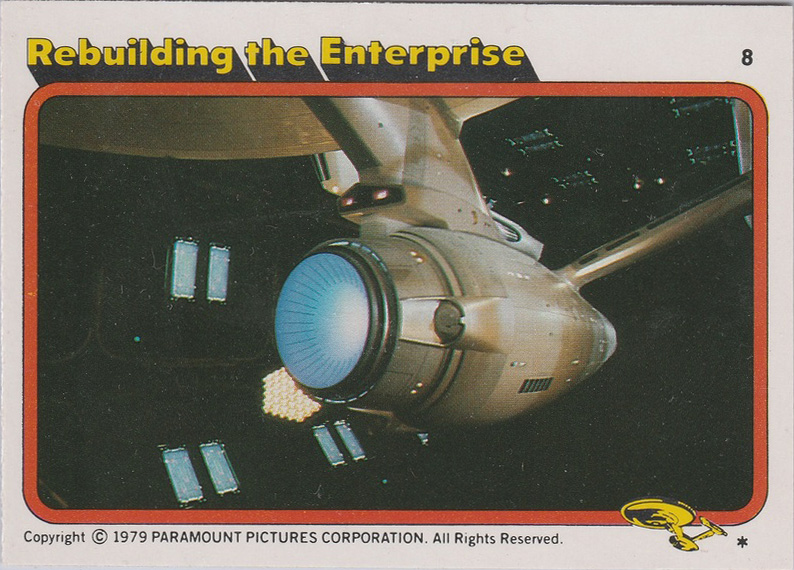 Topps Star Trek :TMP UK Edition 1979 #8