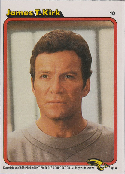 Topps Star Trek :TMP UK Edition 1979 #10