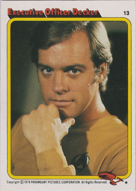 Topps Star Trek :TMP UK Edition 1979 #13