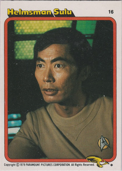 Topps Star Trek :TMP UK Edition 1979 #16