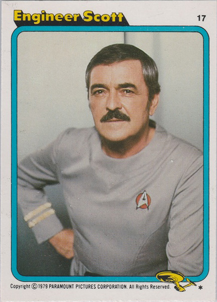 Topps Star Trek :TMP UK Edition 1979 #17
