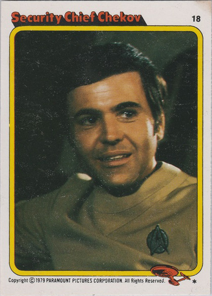 Topps Star Trek :TMP UK Edition 1979 #18
