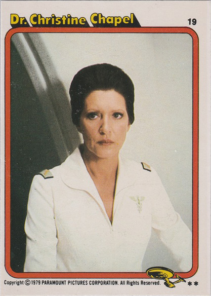 Topps Star Trek :TMP UK Edition 1979 #19