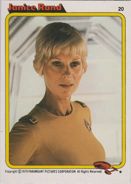 Topps Star Trek :TMP UK Edition 1979 #20