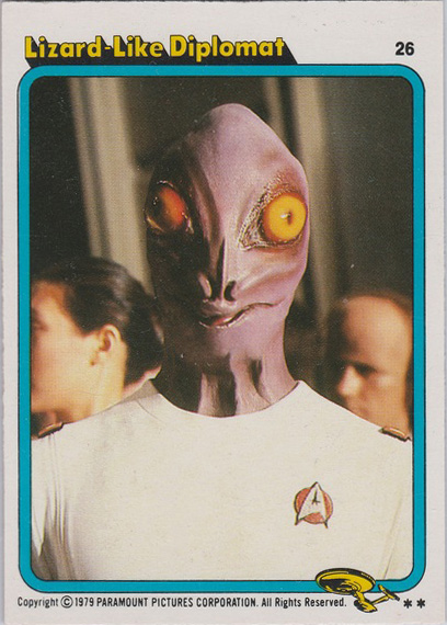 Topps Star Trek :TMP UK Edition 1979 #26