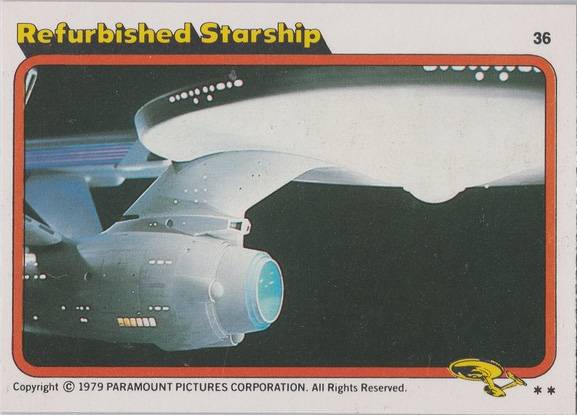 Topps Star Trek :TMP UK Edition 1979 #36