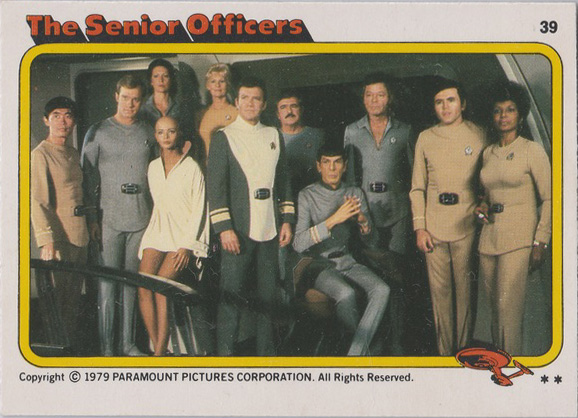 Topps Star Trek :TMP UK Edition 1979 #39