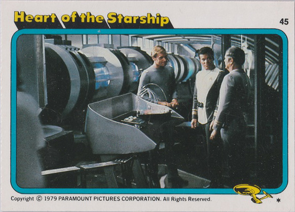 Topps Star Trek :TMP UK Edition 1979 #45