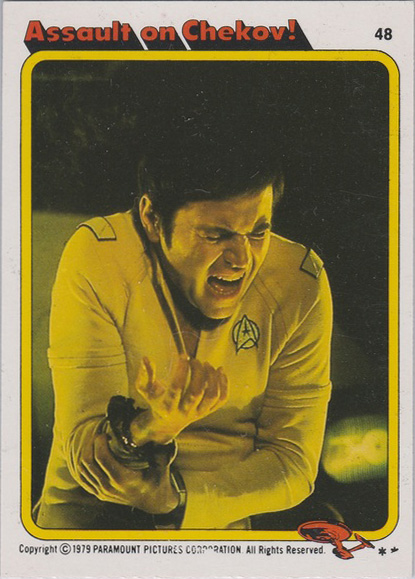 Topps Star Trek :TMP UK Edition 1979 #48