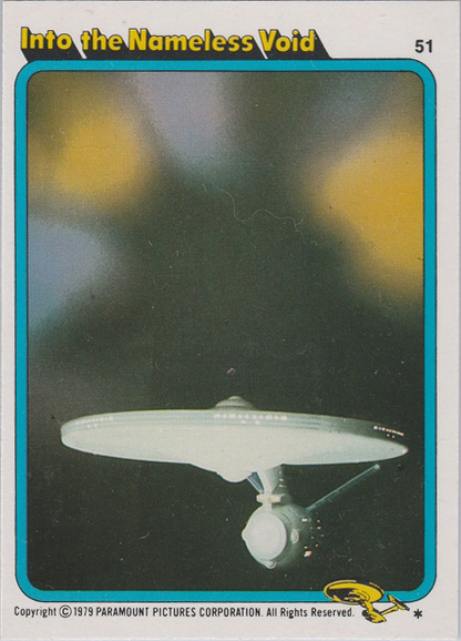 Topps Star Trek :TMP UK Edition 1979 #51