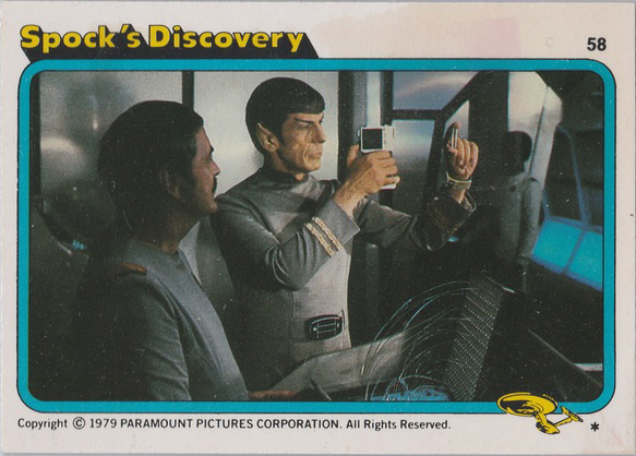 Topps Star Trek :TMP UK Edition 1979 #58
