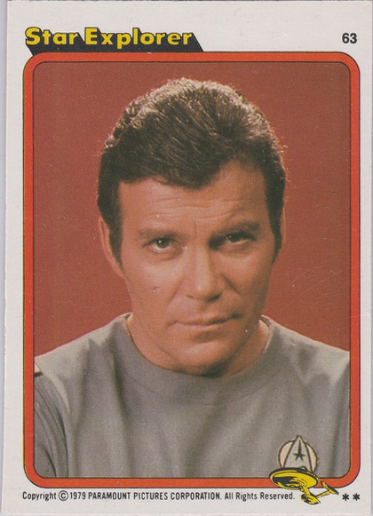 Topps Star Trek :TMP UK Edition 1979 #63