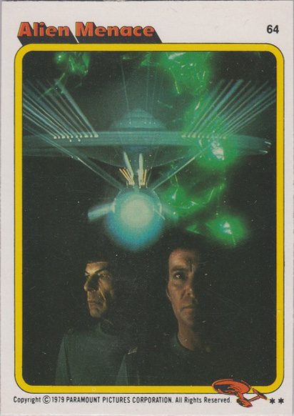 Topps Star Trek :TMP UK Edition 1979 #64