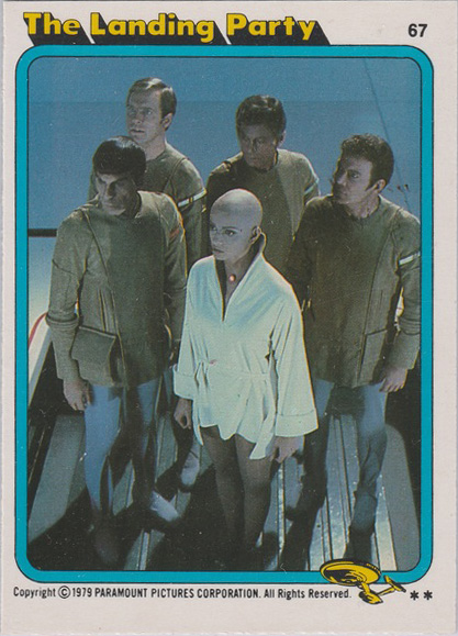 Topps Star Trek :TMP UK Edition 1979 #67
