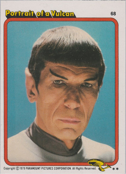 Topps Star Trek :TMP UK Edition 1979 #68
