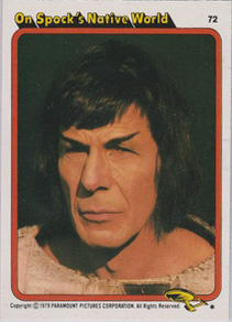Topps Star Trek :TMP UK Edition 1979 #72