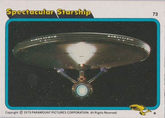 Topps Star Trek :TMP UK Edition 1979 #73