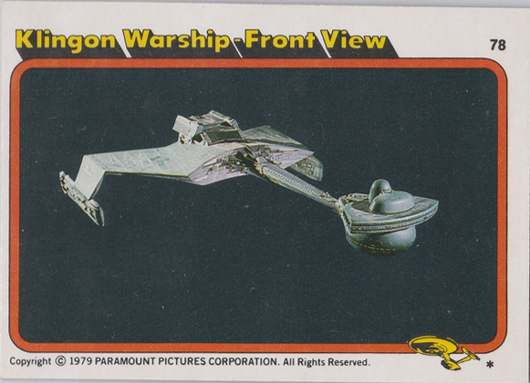 Topps Star Trek :TMP UK Edition 1979 #3