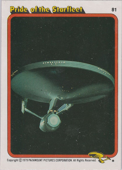 Topps Star Trek :TMP UK Edition 1979 #81