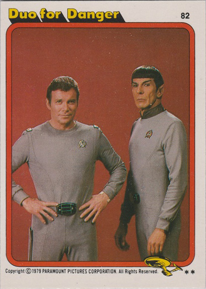 Topps Star Trek :TMP UK Edition 1979 #82